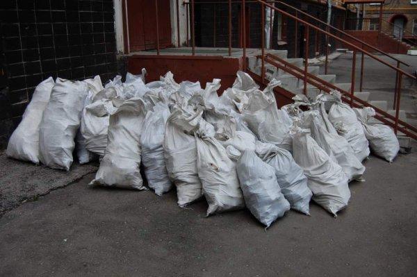 Фото  1 Погрузка стр. мусора в мешках, в а/самосвал 1872756