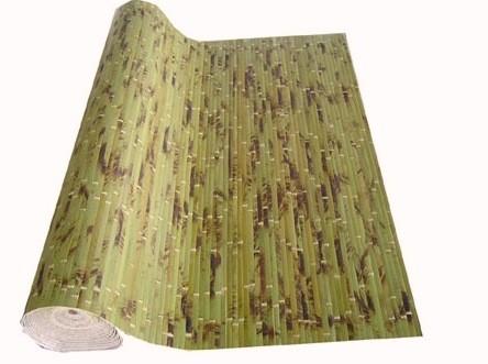 Поклейка бамбуковых обоев оклейка обями любых типов