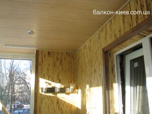 Поклейка бамбуковых обоев по готовой поверхности. Бамбук на балконе.