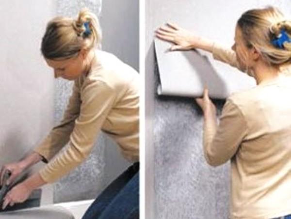 Поклейка обоев подготовка стен Шпаклевка, штукатурка, выравнивание стен
