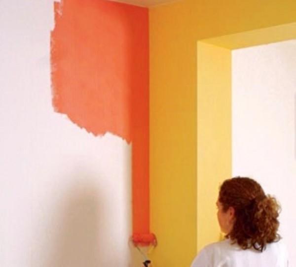 Покраска потолков стен Подготовка