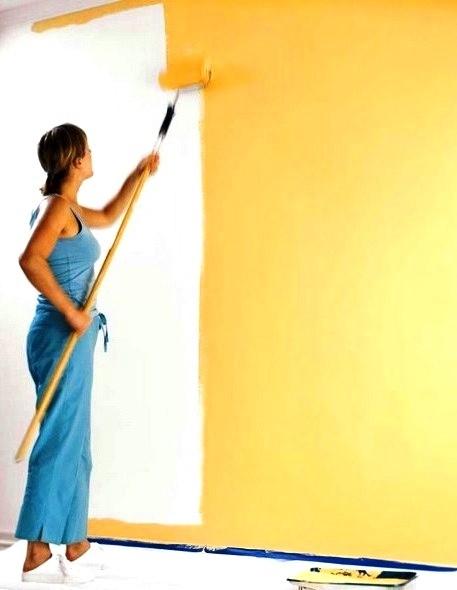 Покраска стен Киев Косметический ремонт