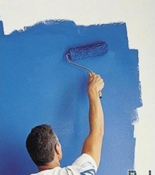 Покраска стен Киев Малярные работы
