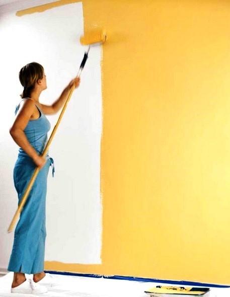 Покраска стен Малярные и внутренние отделочные работы