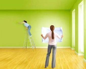 Покраска стен Окраска