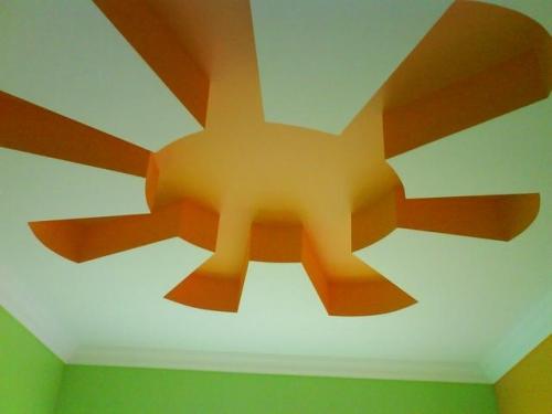 Покраска стен, потолков краской