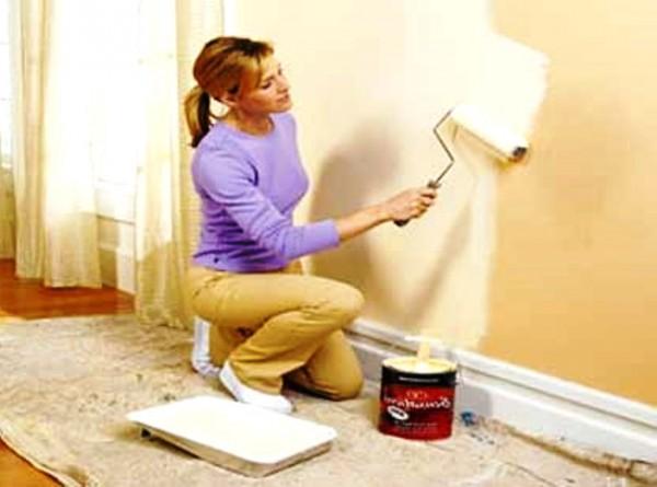 Покраска стен потолков Отделочно-малярные работы