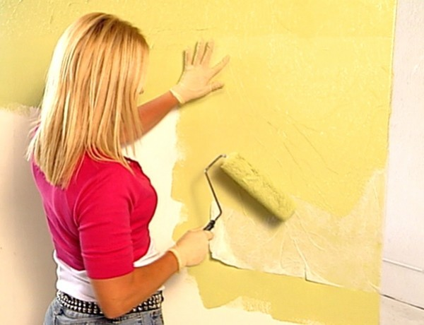 Покраска стен профессионально в Киеве