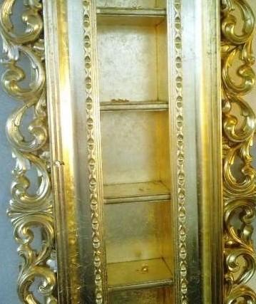 Покрытие сусальным золотом и имитация