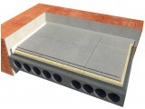 Фото  1 Пол с применением цементно-стружечной плиты ЦСП, толщина 20мм, размер листа 3.20 х1.2х 20мм ( 3.84м2) 2058179
