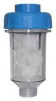 Полифосфатный фильтр Гейзер 1 ПФ для защиты от накипи и железа стиральных машин и бойлеров.