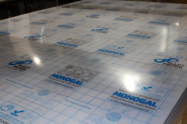 поликарбонат монолитный MONOGAL