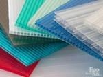 Поликарбонат различных толщин и цветов для теплицы и козырьков.