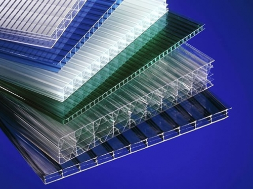 Поликарбонат сотовый 6 мм лист 2,1х6 м.