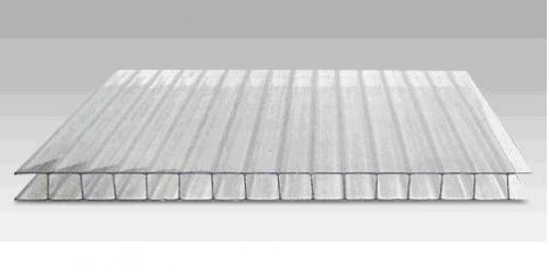 поликарбонат сотовый для теплицы толщина 6мм. прозрачный, отличное качество.
