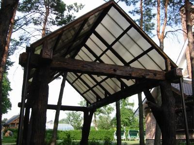Поликарбонат сотовый Polygal (Израиль), прозрачный, размер: 2.1х12.0, толщина 16 мм
