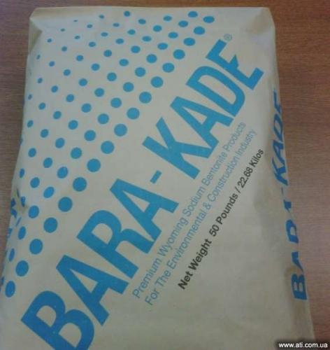 Полимеризированный бентонит для бурения Barakade Plus