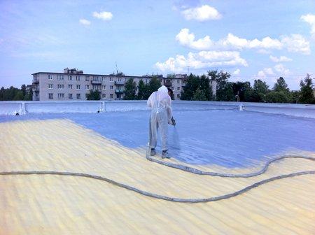 Фото  1 Утепление крыши дома пенополиуретаном лучшая теплоизоляция герметичность и шумоизоляция гарантия 25 лет 1235801