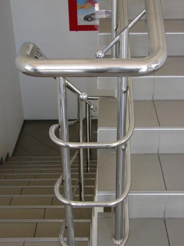 Полированная нержавеющая сталь. Дизайн, проект, изготовление