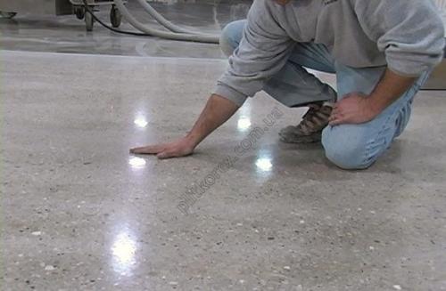 Полированный бетон Суперпол- дешево
