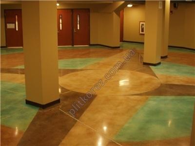 полировать бетон