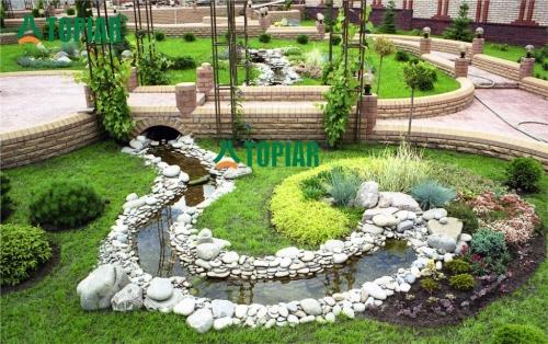 Полный комплекс услуг по ландшафтному дизайну, благоустройству и озеленению.