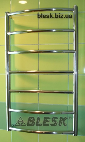Полотенцесушитель Classic 7/800x500 из нержавеющей стали! Подключение: Нижнее, Универсальное (верх-низ), Боковое 1 1/2