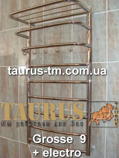 Полотенцесушитель Grosse 9/3 450 мм. изготовлен из нержавеющей стали. Покраска.