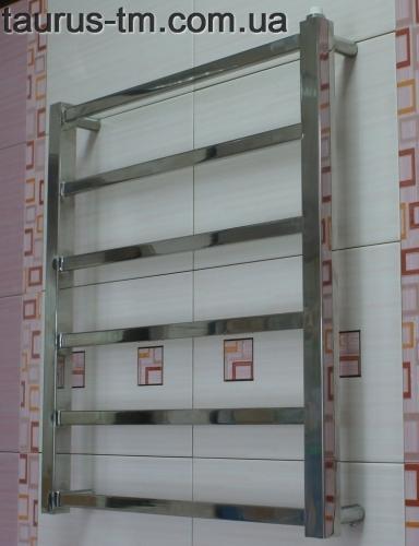 Полотенцесушитель из нержавеющей стали Quatro 6/500 (650х500) Hижнее подключение, Боковое 1/2 и 3/4 дюйма. Доставка