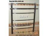Полотенцесушитель из нержавеющей стали Safo 7/ 600x450 Нижнее подключение, Боковое 1/2 1