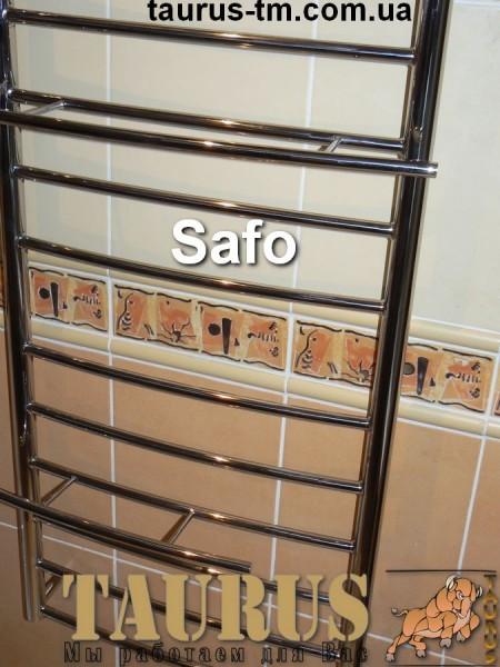 Полотенцесушитель из нержавеющей стали Safo 8 / 450 мм. Размеры под заказ. Покраска.