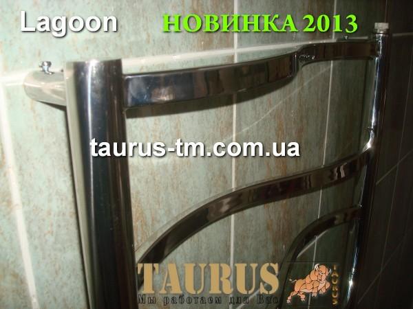 Полотенцесушитель Lagoon 7 для ванной комнаты( 750 мм /500 мм). Комплектация электротэном.