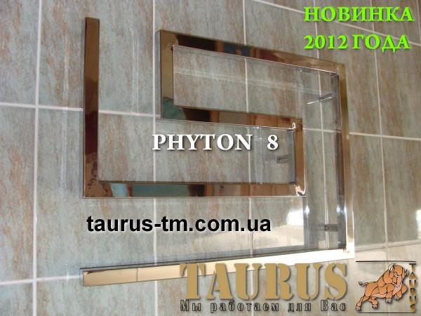 Полотенцесушитель Phyton 8/1100. Комплектация электротэном. возможность выбора подключения.