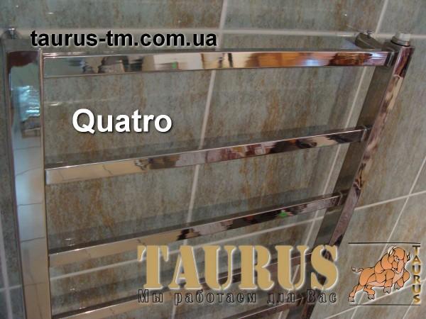 Полотенцесушитель Quatro 15 (1550 мм / 500 мм). Комплектация полотенцесушителя электрическим тэном.