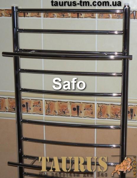 Полотенцесушитель Safo 10 / 450 мм., высота 900 мм. Три вида подключения. Индивидуальные размеры.