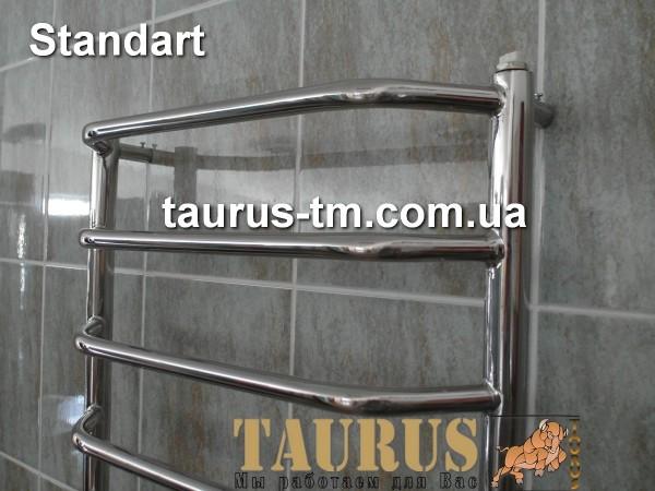 Полотенцесушитель Standart 11 / 500 мм. относится к виду лесенка. Высота 1150 мм. , комплектация электротэном.