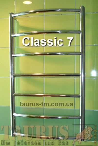 Полотенцесушитель в ванную комнату Classic 7 / 500 мм. высота 750 мм. Размеры под заказ. Гарантия и качество.