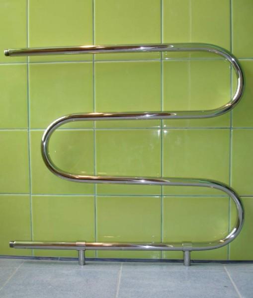 Полотенцесушитель Змейка - Стандарт из нержавеющей стали. Размеры под заказ.
