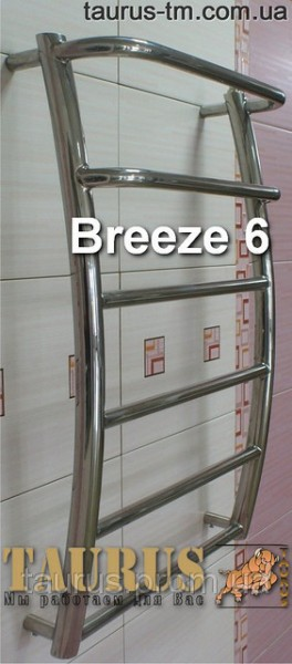 Полотенцесушители лесенка Breeze 6/3 размером 450 м