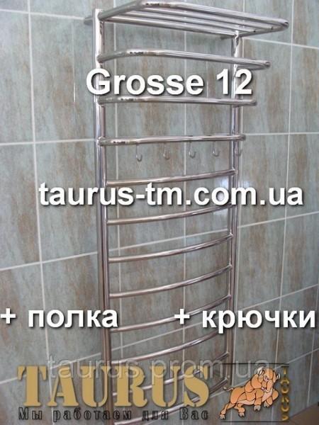 Полотенцесушители лесенка Grosse 12/3 размер 500 мм