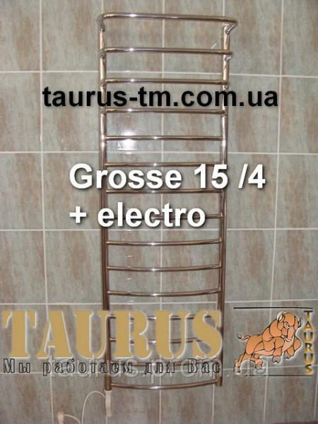Полотенцесушители лесенка Grosse 15/4 размером 400 мм