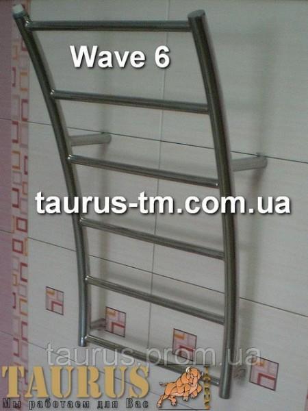 Полотенцесушители лесенка Wave 6 размер 350 мм
