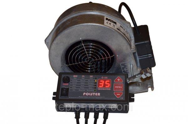 Фото  1 Polster C-11 и вентилятор X2 комплект автоматики для котлов на твердом топливе 1745547