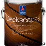 """Полупрозрачная пропитка по дереву """"DeckScapes для наружных работ на водной основе"""