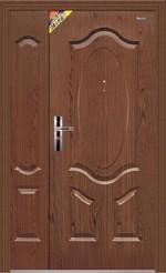 полуторные двери, двух створчатые двери, установка, доставка Mexin 2D 2032 FA