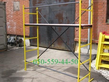 Помост малярный предназначен для производства отделочных, ремонтных работ, предназначен также и для лестничных маршев.