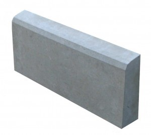 Бордюр- поребрик для тротуарной плитки 50*21*4,5 см