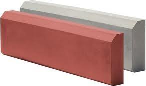 Бордюр- поребрик для тротуарной плитки 50*21*6 см