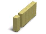 Фото  1 Поребрик фигурный квадратный (цветной на сером цементе) 1941809