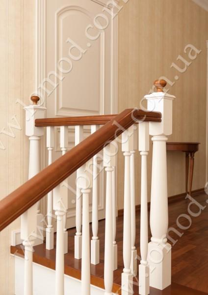 Поручни деревянные: круглые и профильные